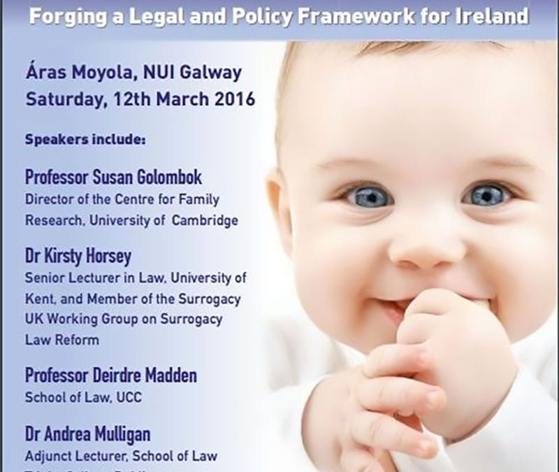 Surrogacy Conference – 12th March 2016