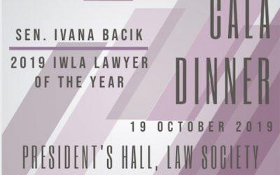IWLA Annual Gala Dinner Tickets