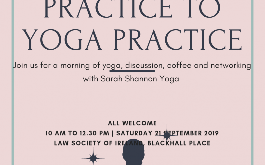 'From Law Practice to Yoga Practice'