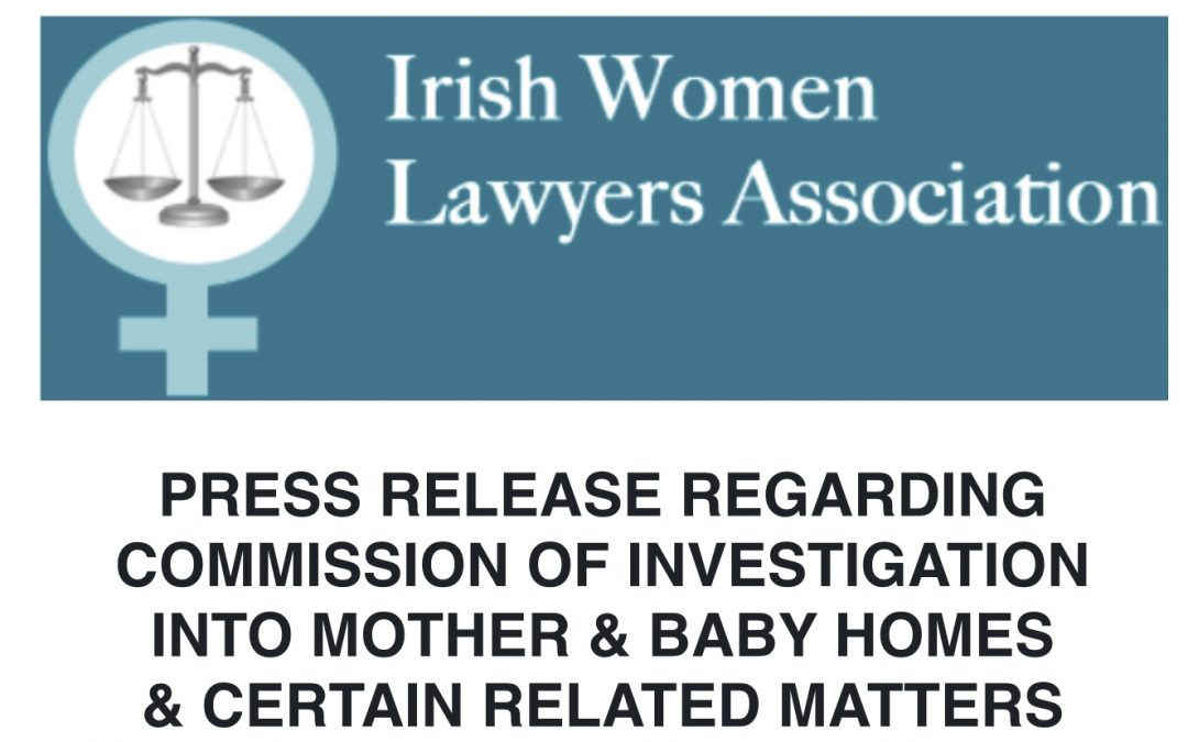 IWLA Statement regarding Mother & Baby Homes