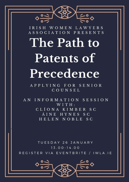 Paths to Patents of Precedence, 26 Jan 2021